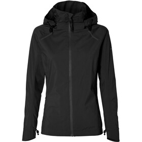 Basil Skane Rain Jacket Women, jet black